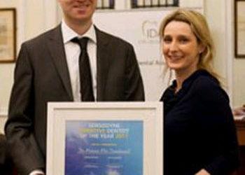 Highly Commended – Sensodyne Dentist of the Year 2011